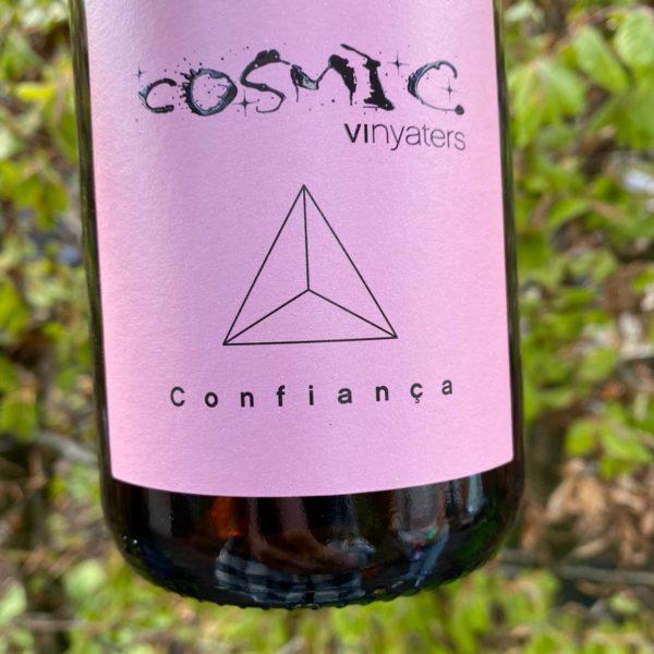 Cosmic natural wine bottle Confianca